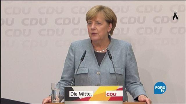 Angela Merkel va por su cuarto mandato