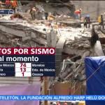 Suman 187 muertos por el sismo del 19-S en la CDMX