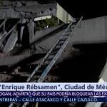 Continúan suspendidas las labores de búsqueda en Colegio Rébsamen