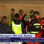 Faltan 39 personas por rescatar en Álvaro Obregón 286, CDMX