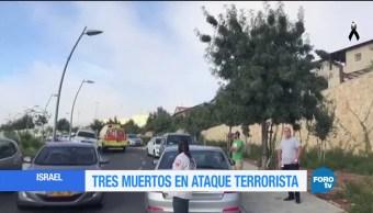 Ataque en Jerusalén es investigado como ataque terrorista