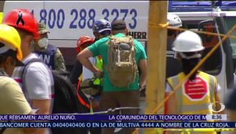 Sigue operativo de rescate en Álvaro Obregón 286 tras sismo