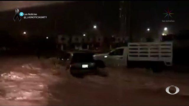 Inundaciones y lluvia intensa en 4 estados del país