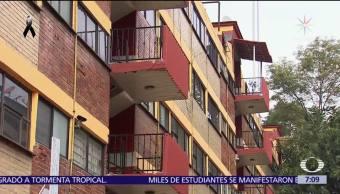 Gobierno CDMX entrega 3 de los 9 edificios desalojados en multifamiliar Tlalpan