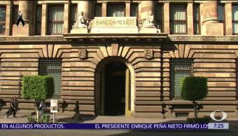 Banxico considera que los sismos tendrán efectos moderados sobre actividad económica