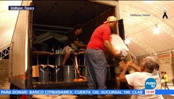 Fundación Televisa recauda más de 22 toneladas de ayuda para Ixtaltepec