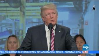 Trump afirma gobierno está comprometido con ayudar a Puerto Rico