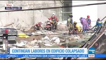 Suman 40 cuerpos recuperados en Álvaro Obregón 286