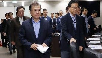 presidente surcoreano pide castigo contra coreadelnorte