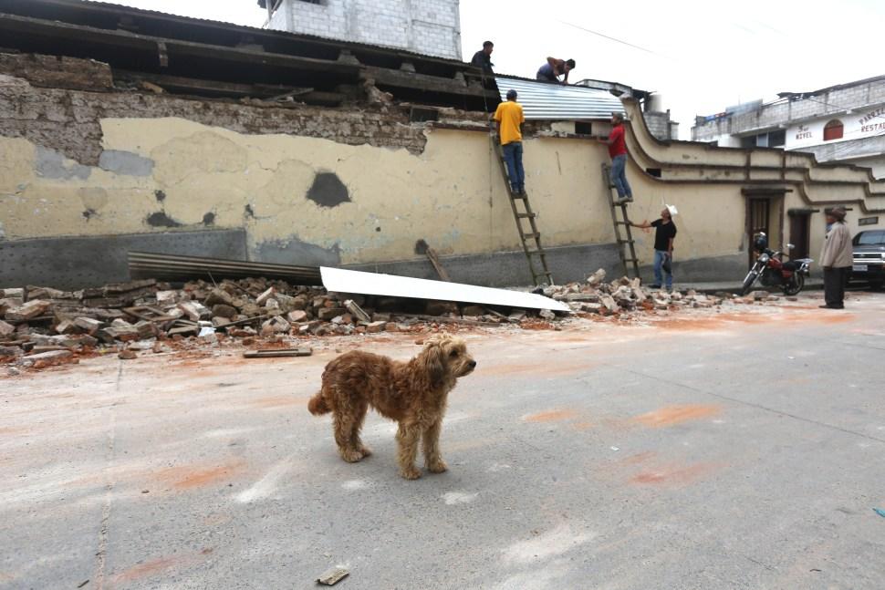 Sismo en México deja más de 4 mil 700 damnificados en Guatemala
