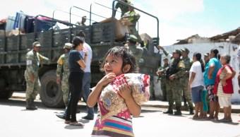 damnificados oaxaca continuan recibiendo ayuda sismo