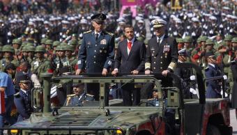 Fuerzas Armadas desfilan por el 207 aniversario de la Independencia
