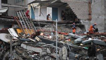 rescatistas israelies ayudan rescate escombros cdmx