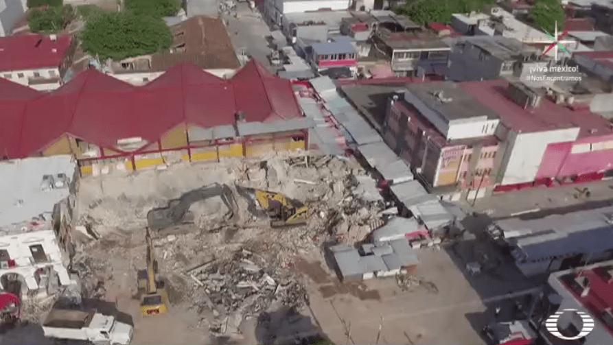 Afectaciones en Juchitán, Oaxaca, tras sismo del 7 de septiembre
