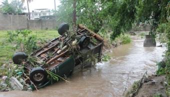 Máx deja un muerto y mil viviendas dañadas en Guerrero