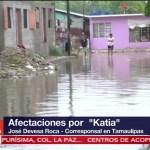 Afectaciones, por, Katia, Tamaulipas
