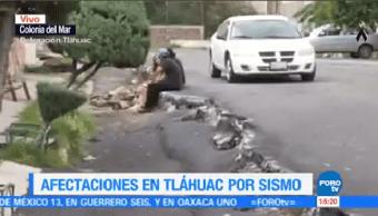 Afectaciones Sismo Tláhuac Cdmx Afectaciones