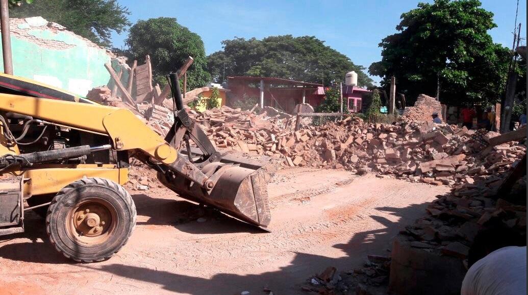 Declaratoria de desastre natural para municipios de Oaxaca