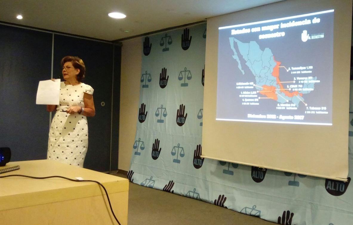 Casi 10 mil secuestros durante gobierno de EPN: Isabel Miranda