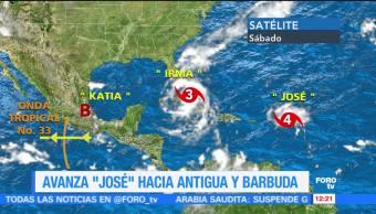 Antigua Barbuda prepara llegada huracán José
