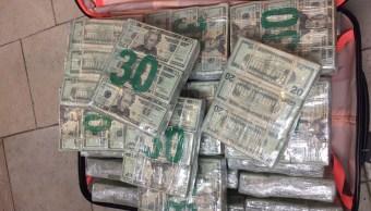 Aseguran millones de dolares en nuevo laredo tamaulipas