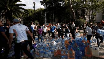 jovenes se congregan estadio olimpico sismo