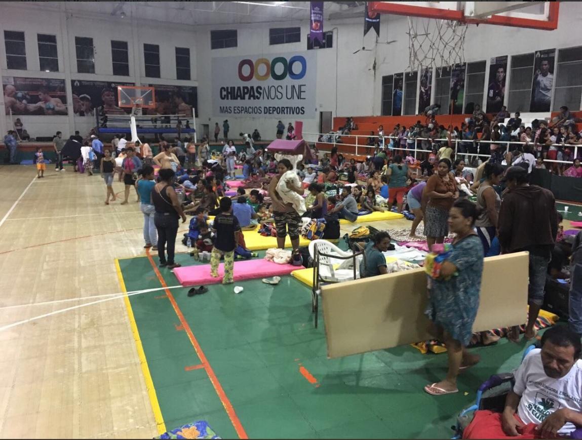 autoridades de chiapas evacuan comunidades costeras