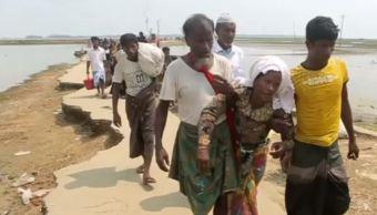 ACNUR: 73 mil refugiados han escapado a Bangladesh desde Myanmar