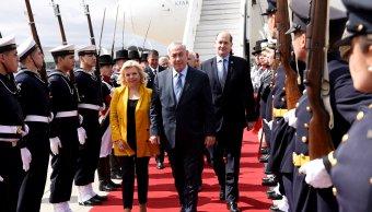 Benjamin Netanyahu realiza historica visita Argentina