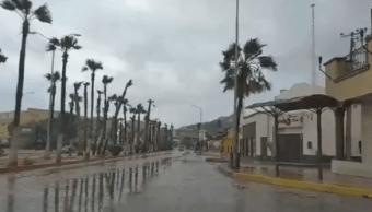 Cabo San Lucas tras el paso de la tormenta Lidia