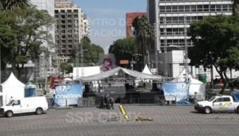Cierran carriles centrales de Reforma por fiestas patrias