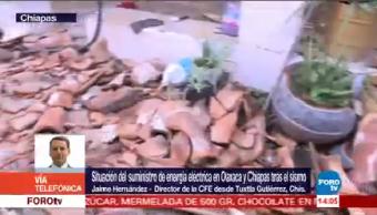 Centrales Cfe Sufrieron Daños Oaxaca Veracruz Sismo