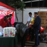 capitalinos donan toneladas viveres damnificados sismo
