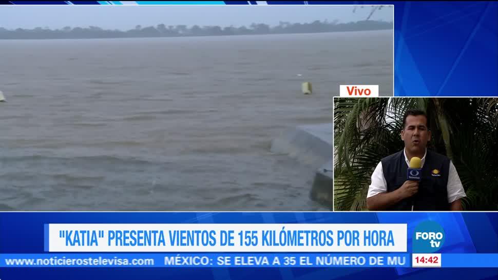 Centro Norte Veracruz Alerta Roja Avance Katia