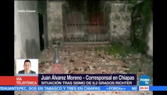 Chiapas presenta daños en los 122 municipios del estado