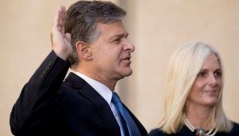 Christopher Wray jura como nuevo director FBI