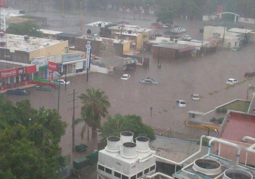Resultado de imagen para tormenta tropical Lidia en Sonora.