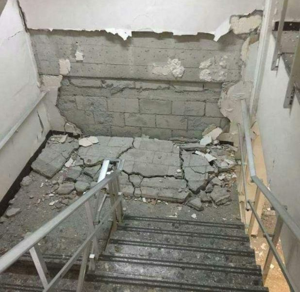 niegan riesgo colapso hospital imss zaragoza