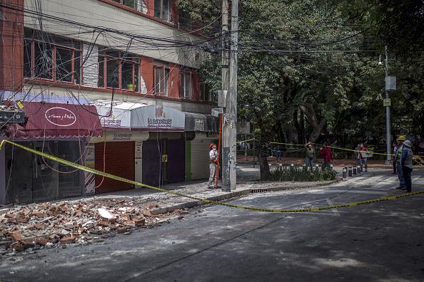 comercioas afectados por sismos en la condesa
