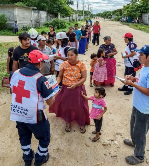 cruz roja oaxaca chiapas ayuda sismo