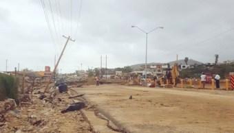 Suman 5,500 viviendas dañadas en BCS por 'Lidia'