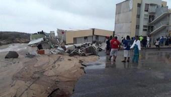 Tormenta tropical 'Lidia' deja severos daños en BCS