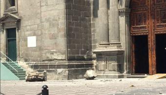 Catedral Metropolitana tiene afectaciones menores tras sismo, reporta la Arquidiócesis