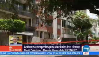 David Penchyna Detalla Medidas Apoyo Afectados Sismos