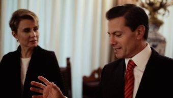 denise maerker entrevista presidente enrique pena