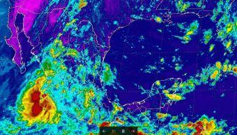 Depresión tropical 18-E se forma en costas de Colima y Jalisco