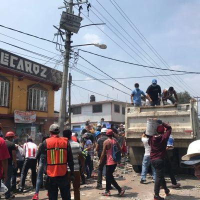 San Gregorio, uno de los poblados más afectados por el sismo en la CDMX