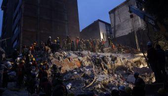 derrumbes en la ciudad de méxico tras sismo