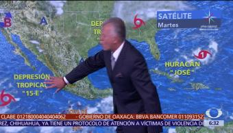 Tormentas, intensas, Jalisco, Colima