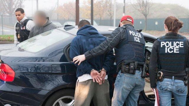 Detenciones hechas por elementos del ICE